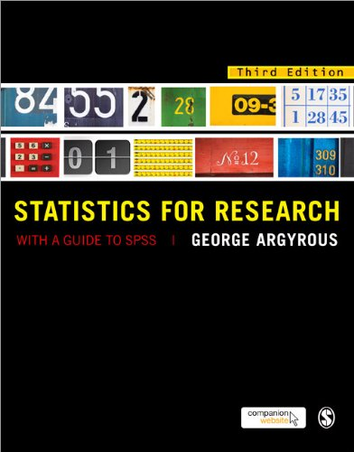 Statistics for Research: With a Guide to SPSS 9781849205955