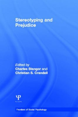 Stereotyping and Prejudice 9781841694559