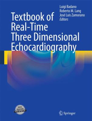Textbook of Real-Time Three Dimensional Echocardiography 9781849964944