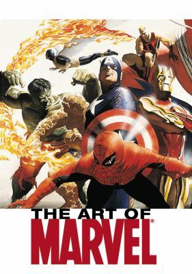 The Art of Marvel 9781846534201