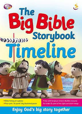 The Big Bible Storybook Timeline 9781844273614