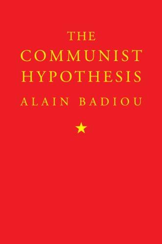 The Communist Hypothesis 9781844676002