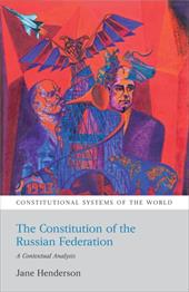 The Constitution of the Russian Federation: A Contextual Analysis 7462436