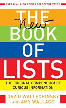 The New Book of Lists: The Original Compendium of Curious Information 9781841957197
