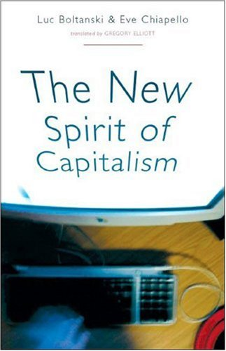 The New Spirit of Capitalism 9781844671656