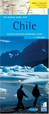 The Rough Guide to Chile Map 9781843534860