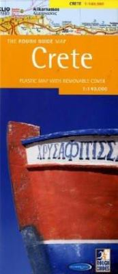 The Rough Guide to Crete Counrty Map 9781843532392