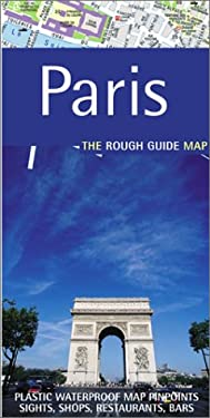 The Rough Guide to Paris Map 9781843530398