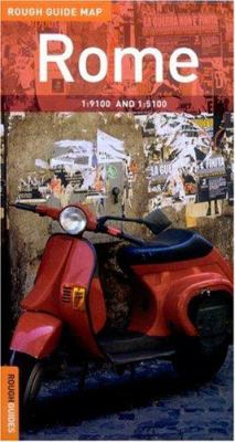 The Rough Guide to Rome Map 9781843531869