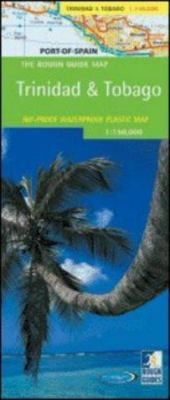 The Rough Guide to Trinidad & Tobago Map 9781843532415