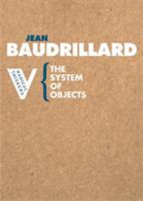 The System of Objects 9781844670536