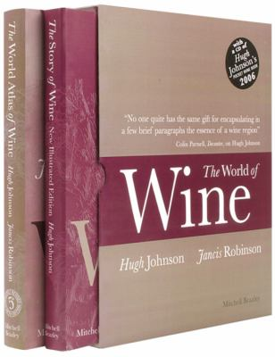 The World of Wine: The World Atlas of Wine/The Story of Wine [With CD of Hugh Johnson's Pocket Wine Book 2006] 9781845331658