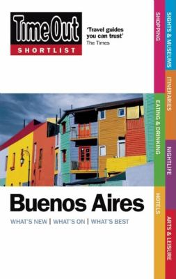 Time Out Shortlist Buenos Aires 9781846701597