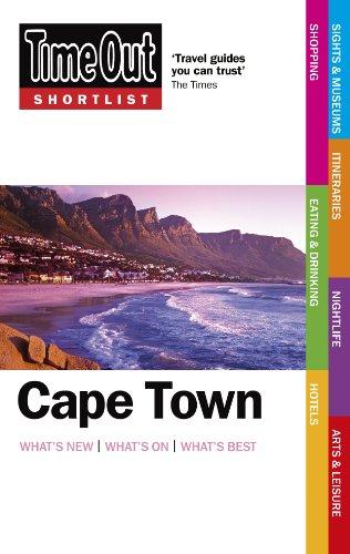 Time Out Shortlist Cape Town 9781846701801