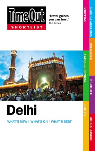 Time Out Shortlist Delhi 9781846702624