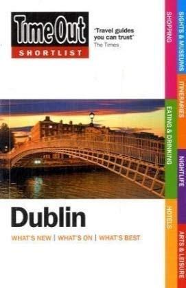 Time Out Shortlist Dublin 9781846700958