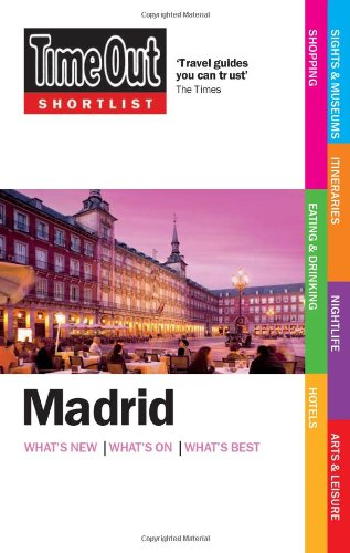 Time Out Shortlist Madrid 9781846701429
