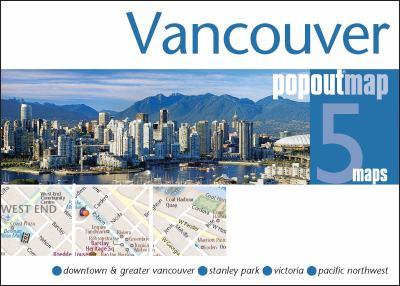 Vancouver Popoutmap 9781845877675