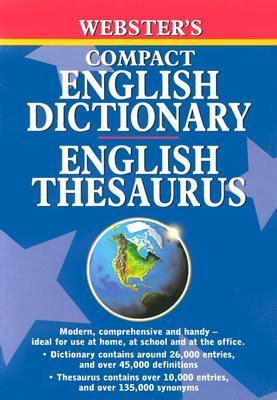 Webster's Compact Dictionary and English Thesaurus 9781842052556