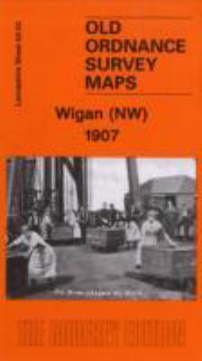 Wigan (NW) 1907: Lancashire Sheet 93.03 9781841518794