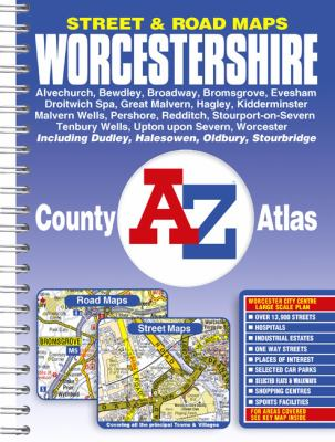 Worcestershire County Atlas 9781843484561