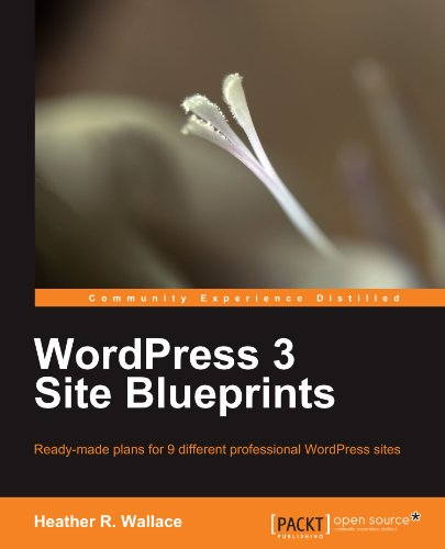 Wordpress 3 Site Blueprints - Wallace, Heather R.