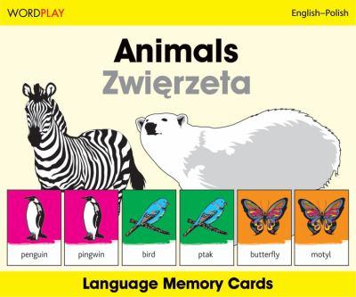 Animals/Zwierzeta Wordplay Language Memory Cards 9781840595505