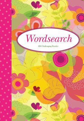 Wordsearch 2 (Pink Polka Dot Spine): 200 Challenging Puzzles 9781848586208
