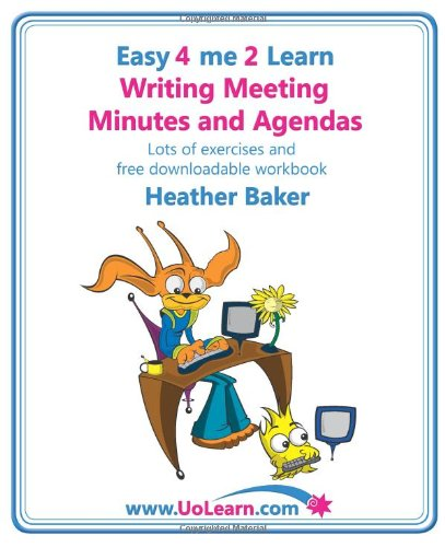 minute taking examples