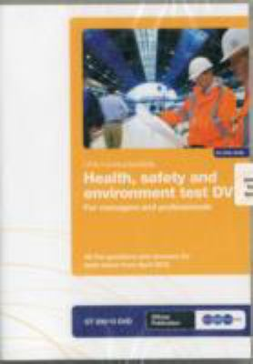 Health, Safety and Environment Test for Managers and Professionals: GT 200/12 9781857513448