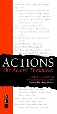 Actions: The Actor's Thesaurus 9781854596741