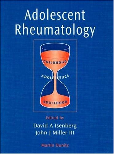 Adolescent Rheumatology 9781853175534