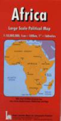 Africa, Political: With National Flags 9781858793757
