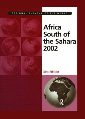 Africa South of the Sahara 2002 9781857431018