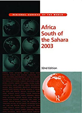 Africa South of the Sahara 2003 9781857431315