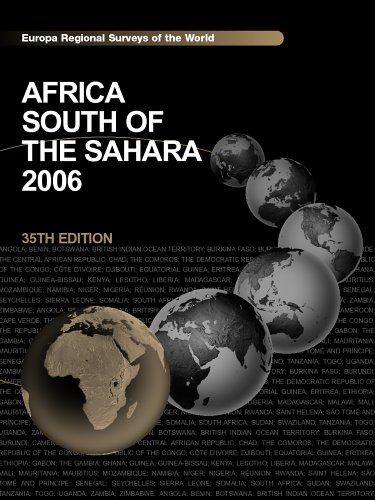 Africa South of the Sahara 9781857433135