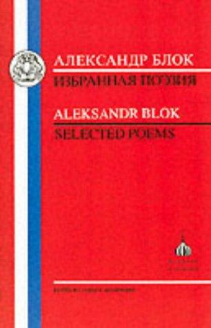 Aleksander Blok: Selected Poems 9781853993114