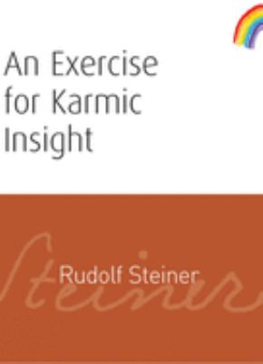 An Exercise for Karmic Insight 9781855841543