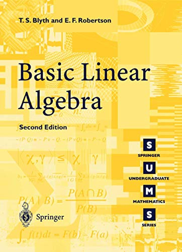 Basic Linear Algebra - 2nd Edition