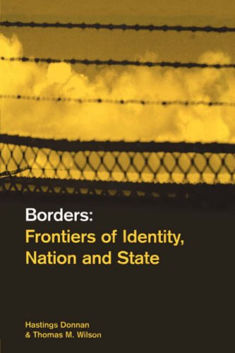 Borders: Frontiers of Identity, Nation and State 9781859732465