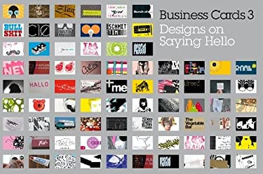Business Cards 3: Designs on Saying Hello 9781856695893