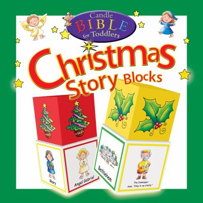 Candle Bible for Toddlers Christmas Story Blocks 9781859857649