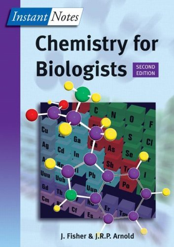 Chemistry for Biologists 9781859963555