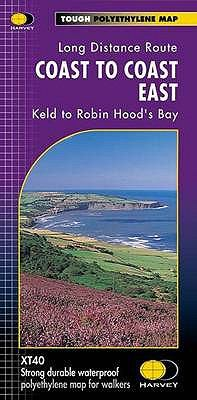 Coast to Coast East XT40: Keld to Robin Hood's Bay 9781851374830
