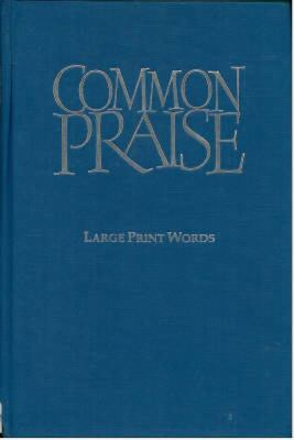 Common Praise: Large Print Words Only - No. 41 9781853114670