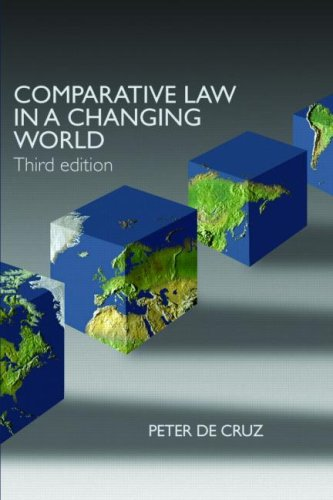 Comparative Law in a Changing World 9781859419366
