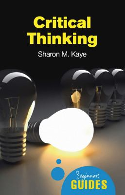 Critical Thinking 9781851686544
