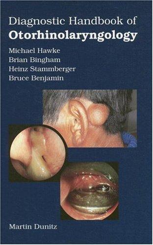 Diagnostic Handbook of Otorhinolaryngology 9781853173837