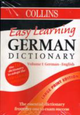Easy Learning German Dictionary 9781858783529