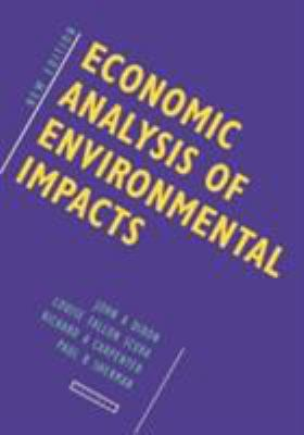Economic Analysis of Environmental Impacts 9781853831850